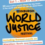 Edinburgh World Justice Festival 2016 programme cover